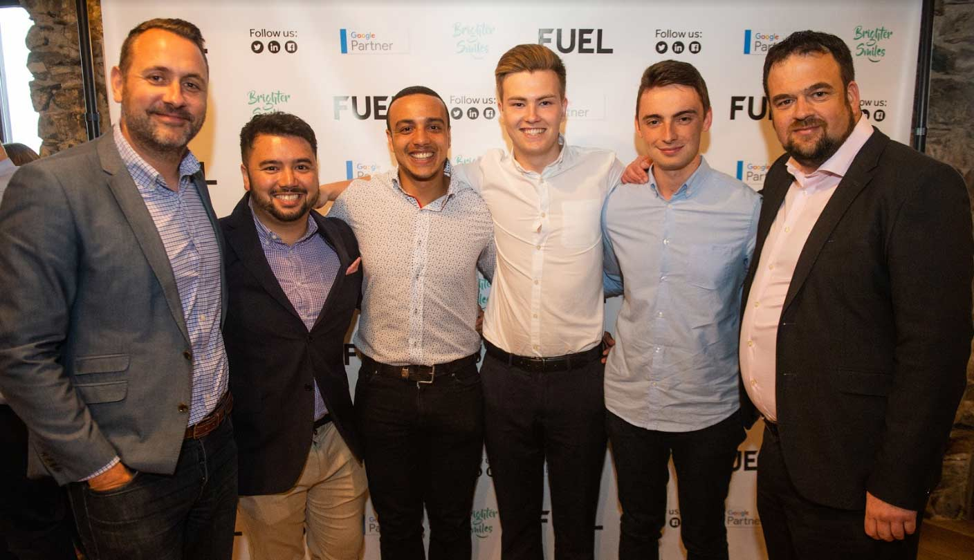 The Entire Fuel Team - Fuel 10 Year Anniversary Party