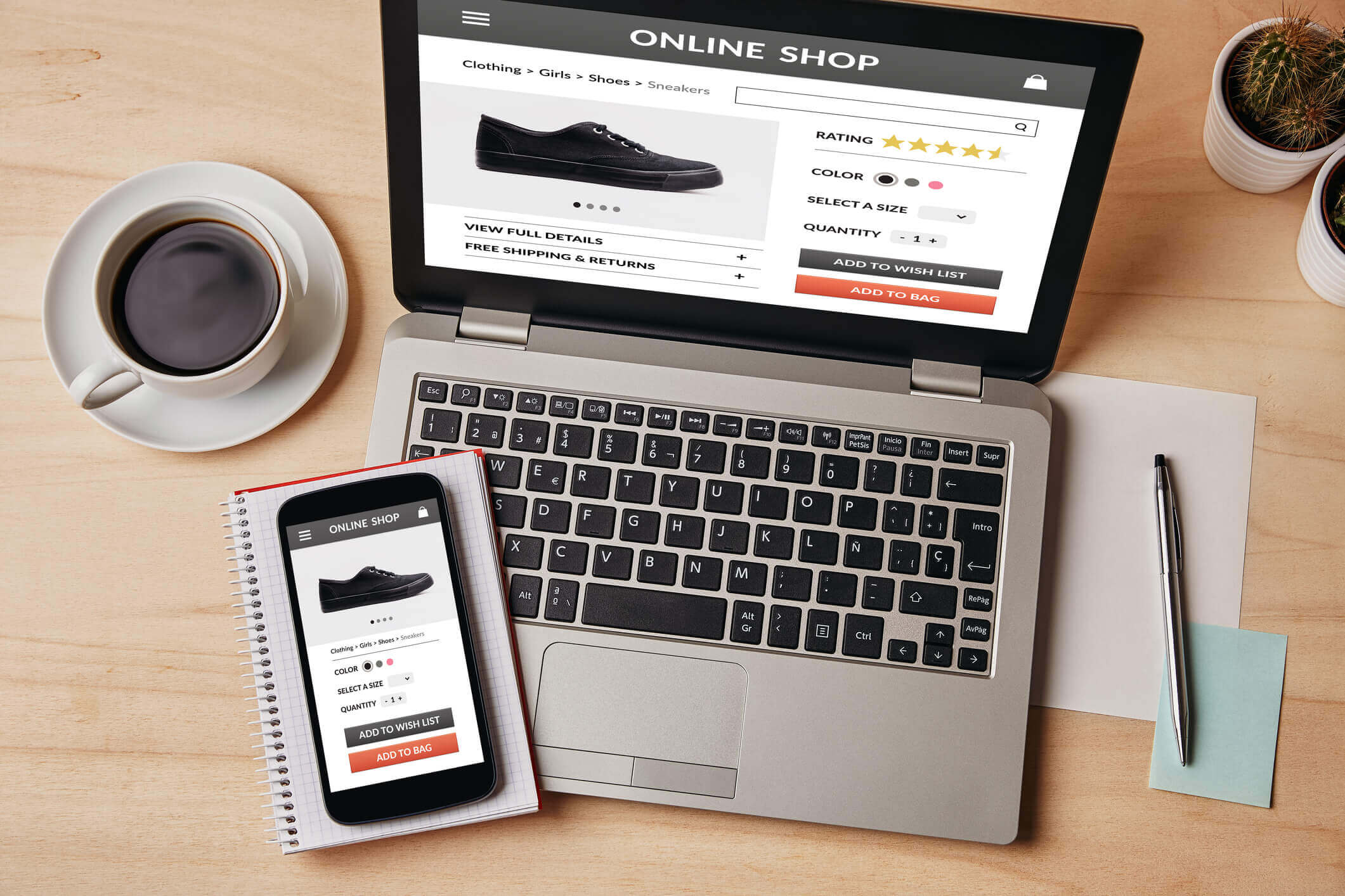 Online shop concept - What Are The Benefits of Affiliate Marketing Banner